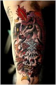 unicorn tattoos for the unicorn