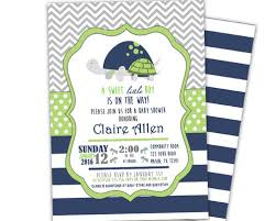 turtle baby shower lime turtle baby shower invitations boy party print express