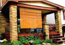 outdoor porch shades outdoor bamboo shades screened porch