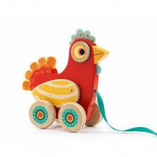 bureau bébé 18 mois polka jouet à traîner jeanne cadeau et idée