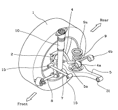 jeep suspension diagram patent us7243934 multi link rear suspension system google patents