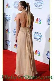 Red Carpet Gowns Sale by Gorgeous Miley Cyrus Halter Evening Dress Full Length Red Carpet