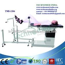 Surgical Table Medical High Quality C Arm Compatible Ss Orthopedic Surgical Table