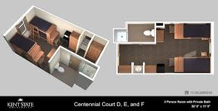Centennial Hall Floor Plan Centennial Court F Kent State University