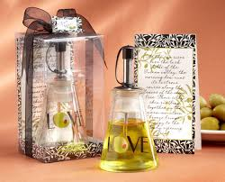 olive favors olive bottle bridal shower favor my wedding favors