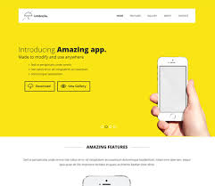 free website template css html5 umbrella a mobile app based flat