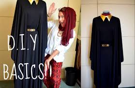 diy how to make your own abbaya dress youtube