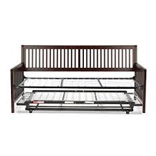 amazon com mission complete wood daybed with link spring and