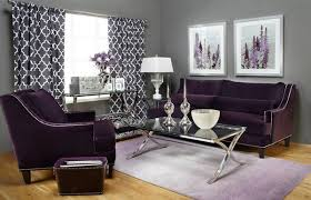 Purple Living Room Furniture 15 Catchy Living Room Designs With Purple Accent Home Design Lover