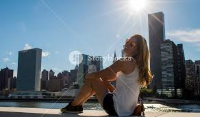 New York Traveling The World images New york city tourist woman traveling the world posing for a jpg