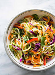 Homemade Pasta Salad by Asian Zucchini Noodle Salad Recipe Simplyrecipes Com