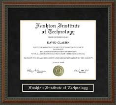 tech diploma frame fashion institute of technology fit diploma frame everything