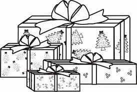 christmas presents coloring pages pictures printable