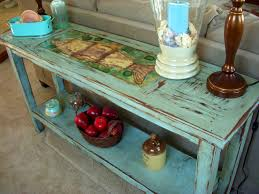 Table Behind Sofa by Astonishing Shabby Chic Sofa Tables 83 For Decorating A Console