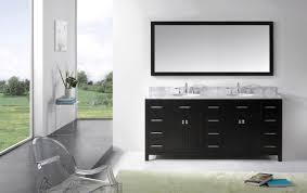 virtu usa caroline parkway 72 double bathroom vanity set in