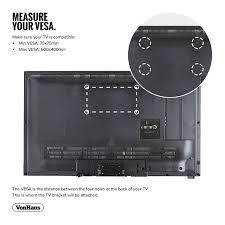 samsung 32 inch smart tv wall mount vonhaus 33 60