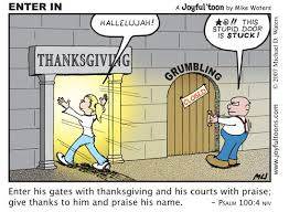 enter into his gates with thanksgiving knowing god
