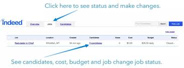 Indeed Jobs Upload Resume Indeed Job Posting How To Post On Indeed Cost Info Faqs
