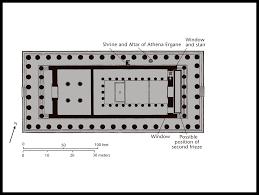 Parthenon Floor Plan Parthenon Section