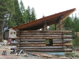 shed style roof the project log home builders association