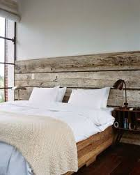 angled wood headboard coveted by covetboard artisan