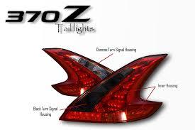 nissan 370z tail lights 370z custom tail lights set yunique l e d retrofits