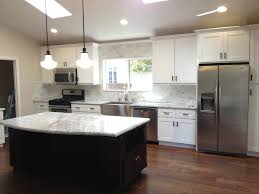Houzz Kitchen Tile Backsplash by Houzz Kitchen Cabinet With Marble Tile Backsplash Kitchen
