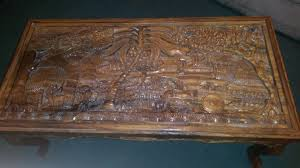 antique hand carved coffee table appraisal instappraisal ebay teak