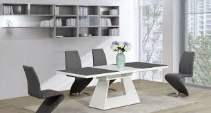 dining enchanting black lacquer dining room table with news