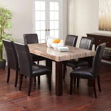 granite dining table set dining room real granite table stone top round marble sets white