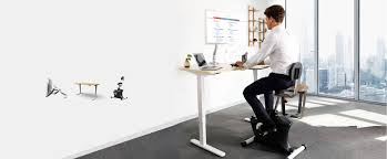 Sit Stand Adjustable Desk by Loctek Sit Stand Desk Risers Height Adjustable Desks U0026 Monitor Arms