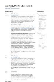 Mechanical Sales Engineer Resume Sales Engineer Resume Samples Visualcv Resume Samples Database