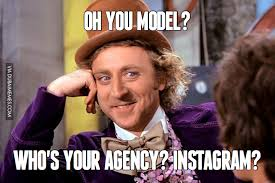 Model Meme - oh you model who s your agency instagram image dubai memes