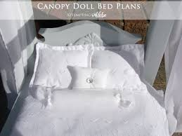 Diy Canopy Bed Attempting Aloha Diy Canopy Doll Bed It U0027s Done