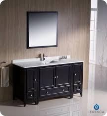 fresca allier 36 quot wenge brown modern bathroom vanity w 50 lovely mirrored bathroom vanity ideas home design