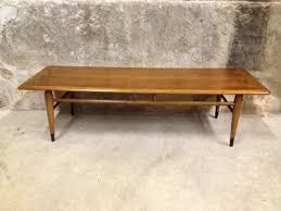 vintage wood coffee table chic vintage coffee tables lane perception coffee table vintage lane