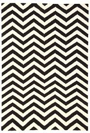 White And Gray Rugs Cairo Black U0026 White Chevron Wool Rug