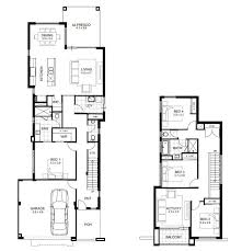 narrow cottage plans narrow lot storey house designs perth apg homes plans front g
