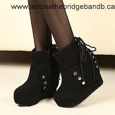 womens boots for winter 2017 absolutely s boots 2017 winter pu wedge heel