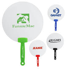 promotional fans custom plastic fan promotional plastic handle paper fans