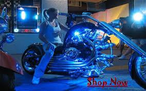 motorcycle led light bulbs and flush mount led custom led install