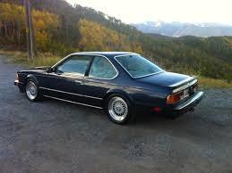 bmw m6 1990 1987 bmw m6 german cars for sale