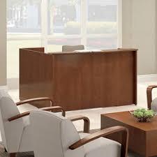 National Waveworks Reception Desk Clever Desk Executive Desks From National Office Furniture