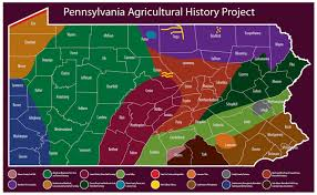 Map Of Western Pennsylvania by History Phmc U003e Pennsylvania Agricultural History Project