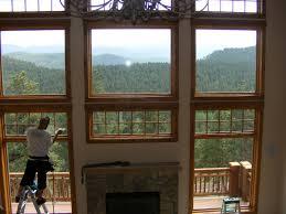 clear view window films