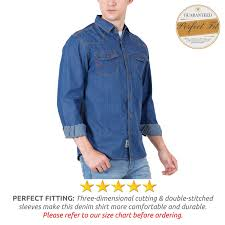 fashion freak denim shirt for men jean shirt ds003 l 39