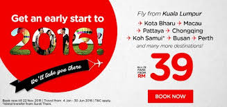 airasia singapore promo airasia 2016 early start promotion lowfaresguru com