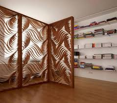 wooden room dividers decorating ideas stylish wooden room divider as living room