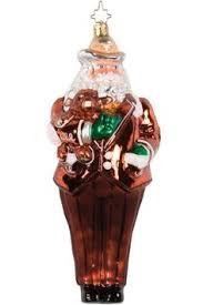 new louisiana state lsu tigers glass santa ornament ncaa 5