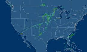 Map To Chicago by United Airlines 737 900 Economy Class Chicago To San Diego